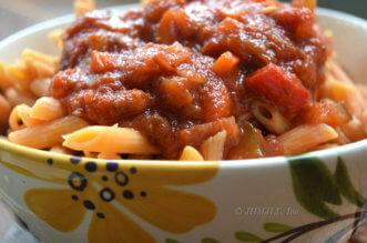 vegetable-marinara