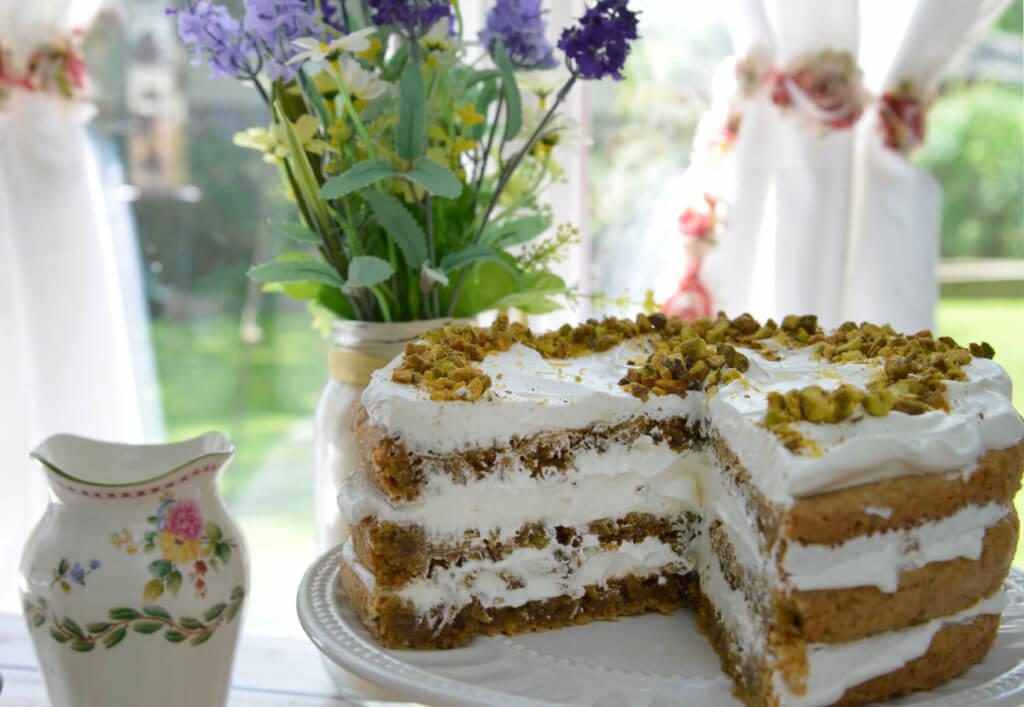 Pistachio Cake - NowFindGlutenFree.com