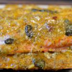 Apricot and Jalapeno Cedar Plank Salmon