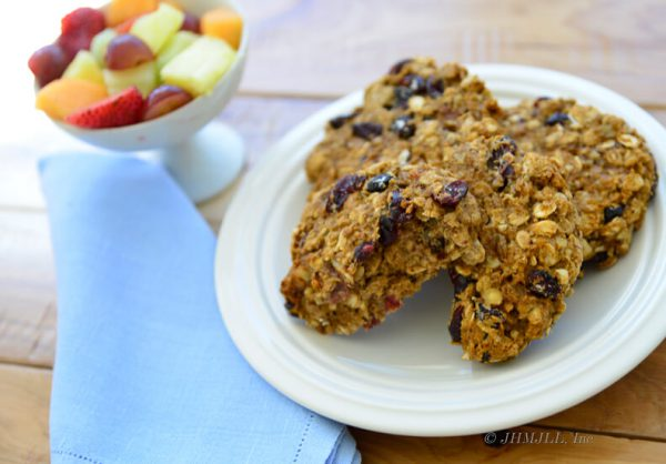 Brookies, gluten free breakfast cookie