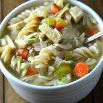 1 Hour Chicken Noodle Soup