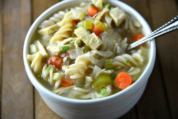 1 Hour Chicken Noodle Soup