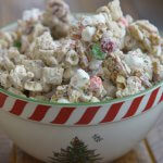 easy Christmas treat, reindeer chow