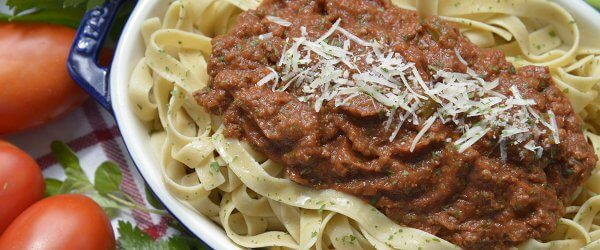 traditional meat sauce